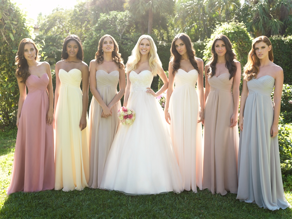Within The Intensive Wedding Timeline How To Coordinate Bridesmaids Dresses Is A