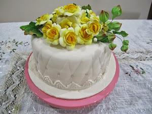 Cake Hantaran Fondant