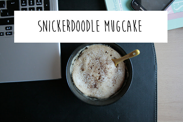 Receta de Mugcake snickerdoodle
