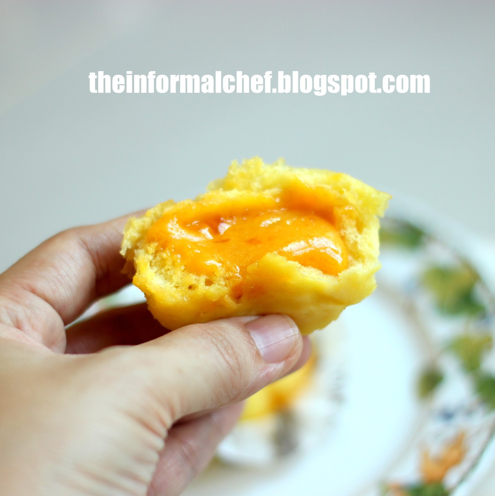 The Informal Chef Liu Sha BaoSalted Egg Yolk Custard Bun