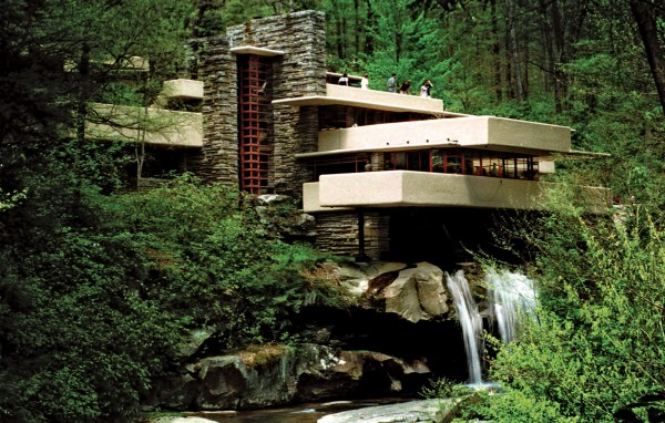 the fallingwater museum by lego dopaminejunkie org