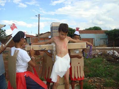 IAM encena Via-Sacra em Rio Verde/GO