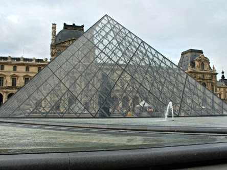 {Travel Tuesday} Louvre and Arc de Triomphe