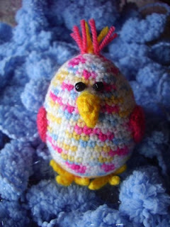 gift for easter: chick amirugumi