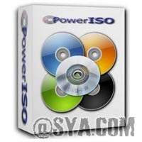 PowerISO 5.7 Logo
