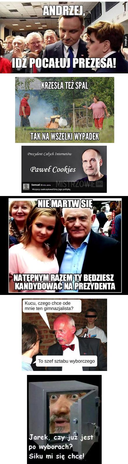 wybory memy