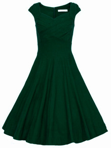 www.shein.com/Dark-Green-Heart-Shape-Collar-Sleeveless-Flare-Dress-p-230822-cat-1727.html?aff_id=2525