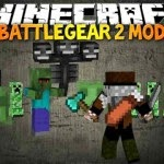 BattleGear2 Minecraft Hile BattleGear 2 Mod 1.7.2/1.6.4