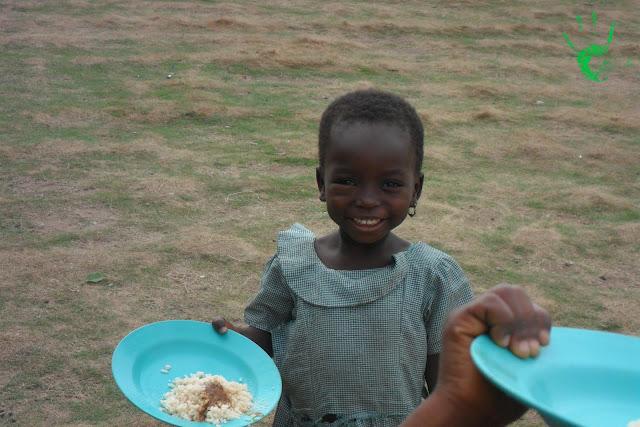 Foto dei bambini della Missione togolese