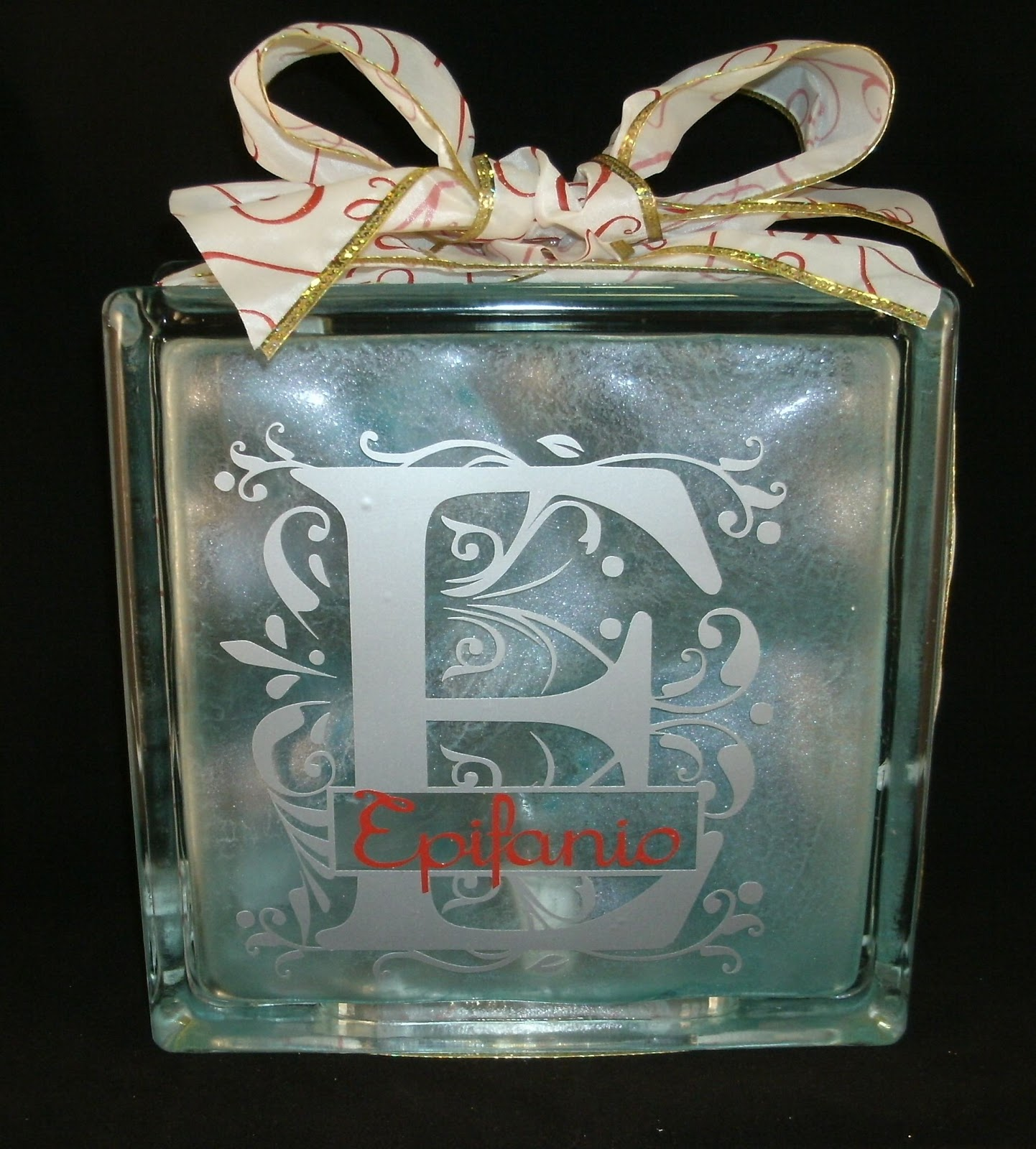 Ima cutter crafts glass block gift 2 for Glass block for crafts