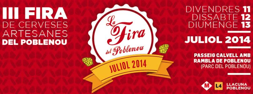 Tercera edición de Fira del Poblenou de Cerveses Artesanes