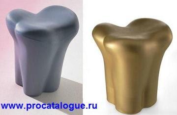 Креативные стулья кости. Пуфик или табуретка в виде кости фото.