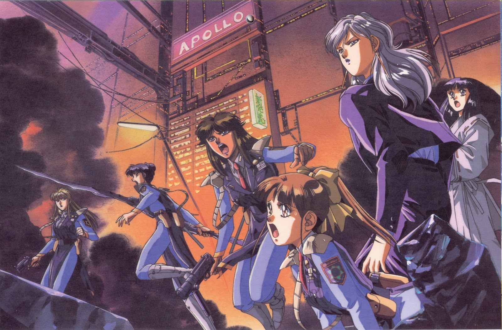 Kết quả hình ảnh cho Silent Mobius: The Motion Picture anime