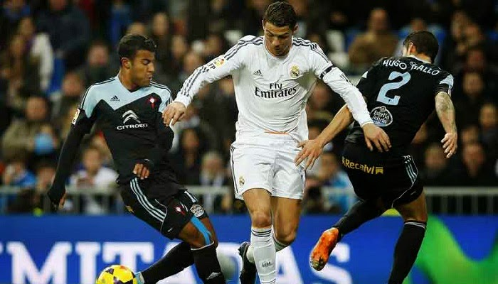 Real Madrid vs Celta Vigo en vivo