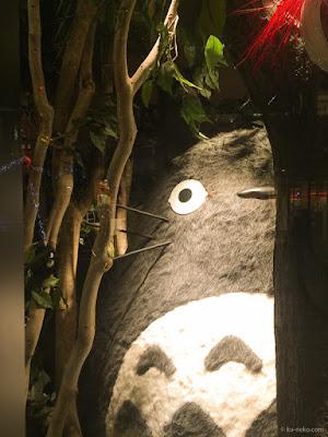 東京スカイツリー近くで見つけたトトロ