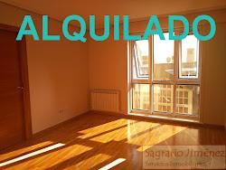 Apartamento de dos dormitorios en Atocha Baja, Orillamar, garaje. 650€