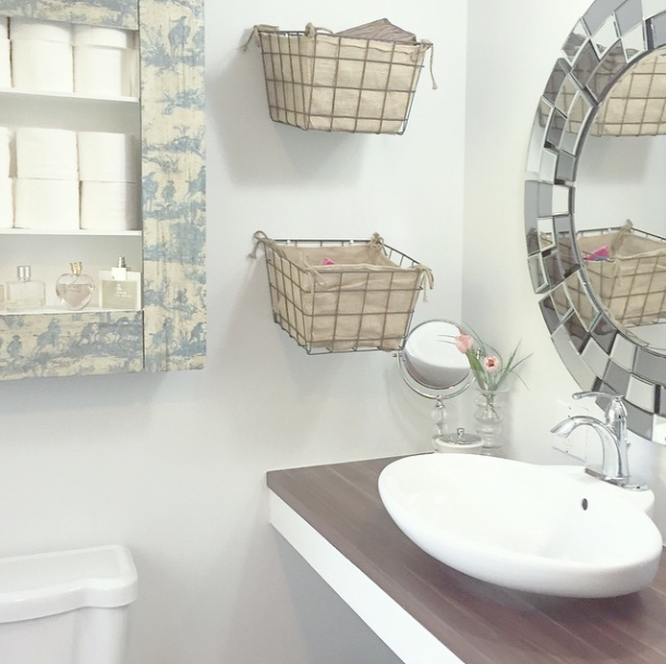 Gorgeous Real Life Bathrooms | Sweet Honey Do List