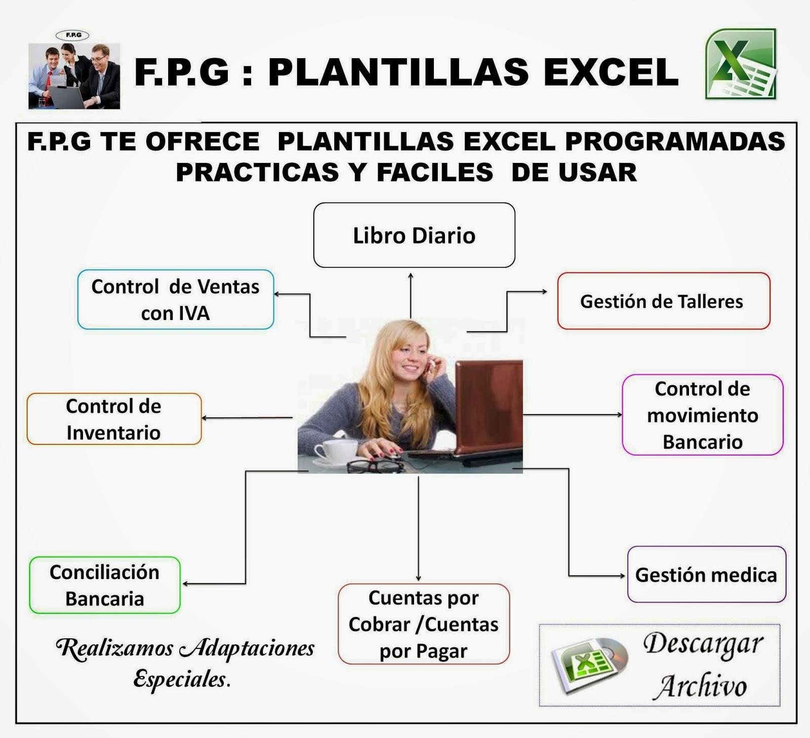 F.P.G ASESORES & CONSULTORES: F.P.G-PLANTILLAS EXCEL