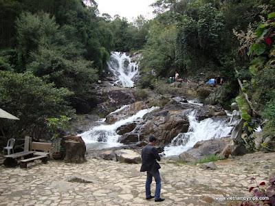 Dalat city - Datanla waterfall