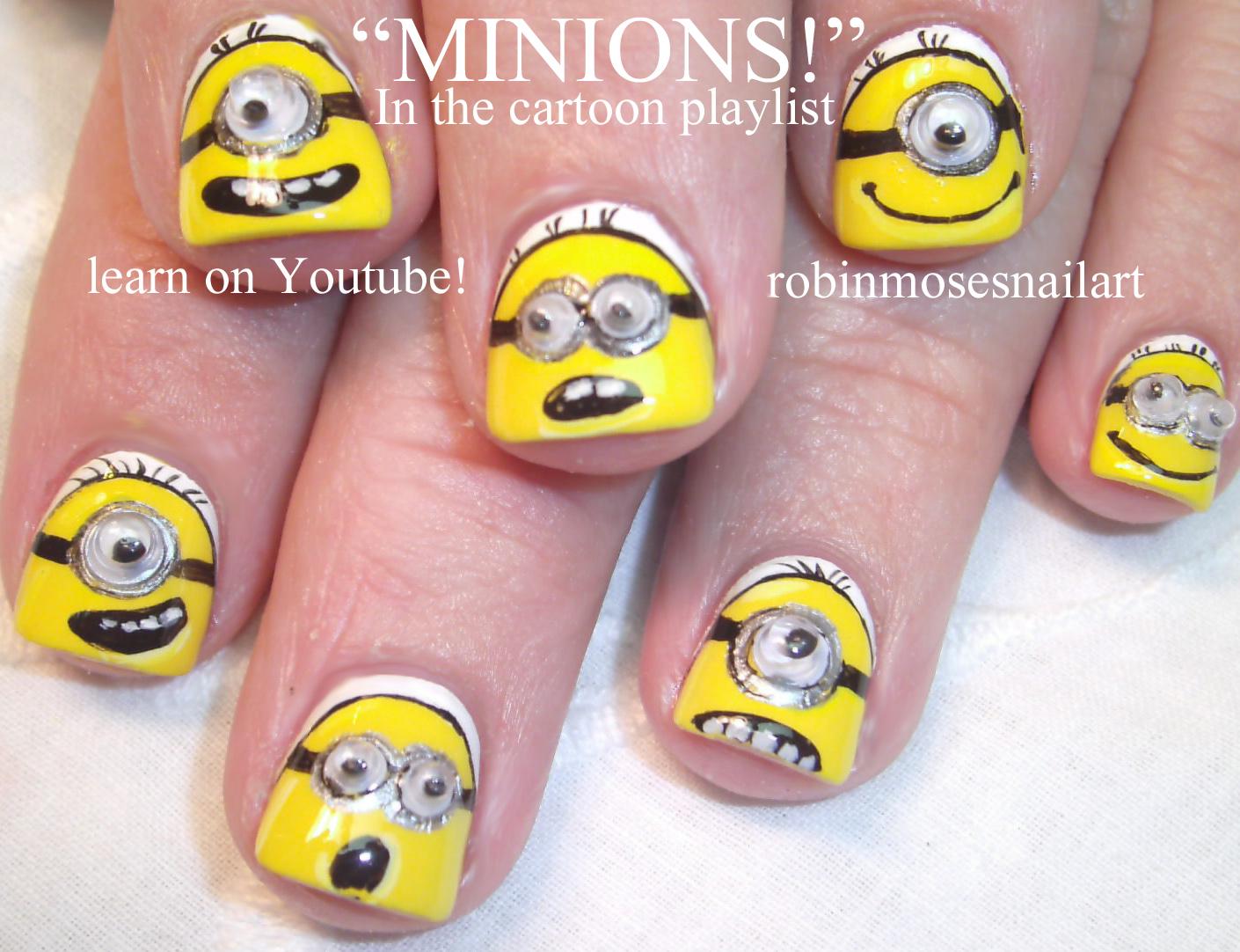 Nail Art Design Despicable Me Nails Despicable Me 2 Nails Minion