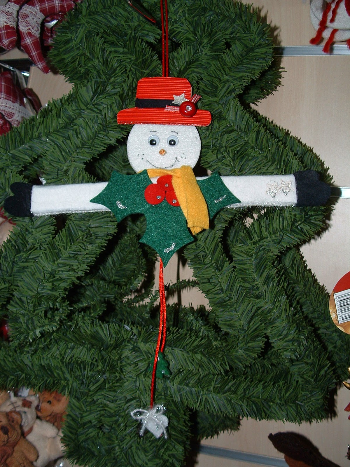 Il bruco lavoretti natalizi per la scuola primaria e dell for Addobbi natalizi scuola primaria