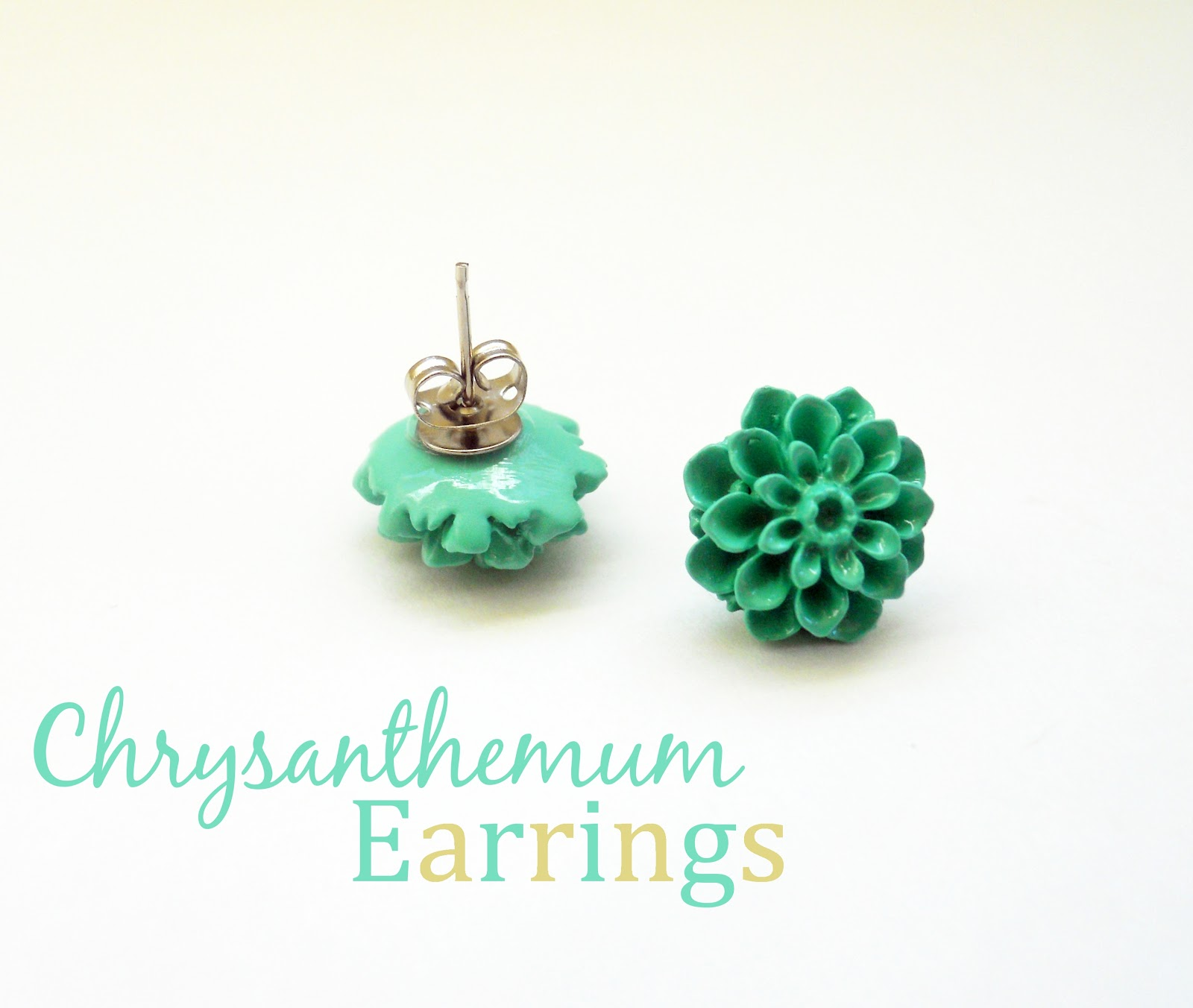 DIY-Chrysanthemum-Earrings