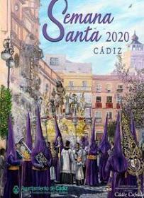 cartel semana santa de cadiz 2020