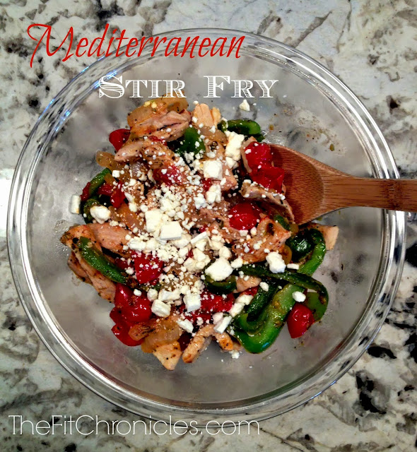 mediterranean chicken stir-fry, hello stripes blog, the fit chronicles blog, alison hay fitness, alison hay personal training, alison hay personal trainer