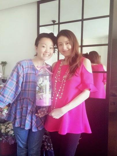 Suki徐淑敏都是學生,在家裡教花整課程,勁!