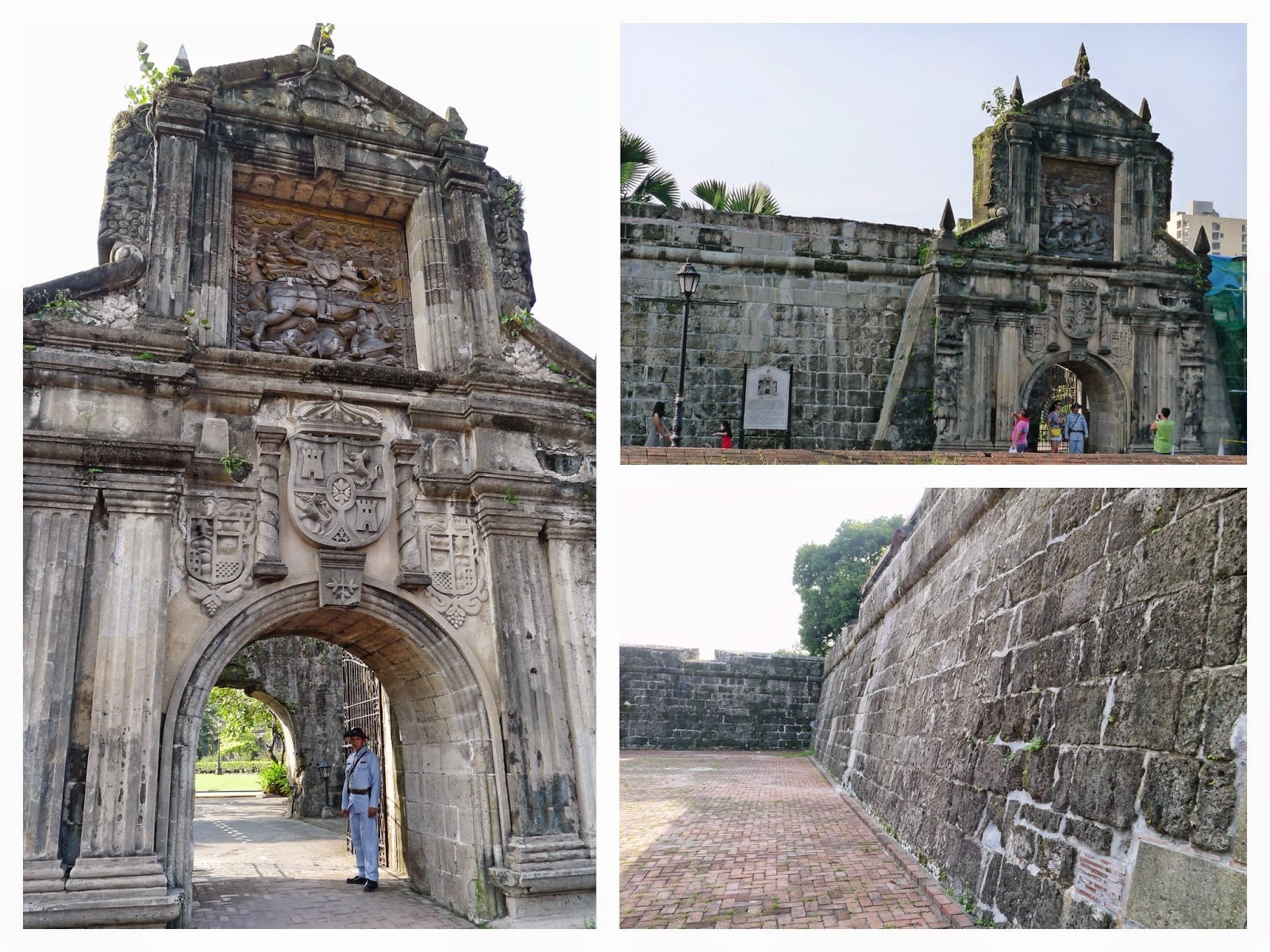 Fort Santiago Walls