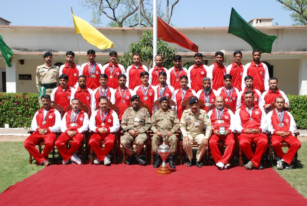 "Pakistan army's shooting team has won the eleventh ""inter services"