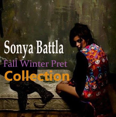 Sonya Battla Fall Winter Pret Collection