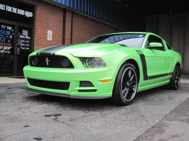 catching gotta have it green 2013 ford mustang boss 302 this vehicle