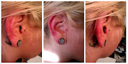 . still improving my skills. this time freehand tragus piercing with .