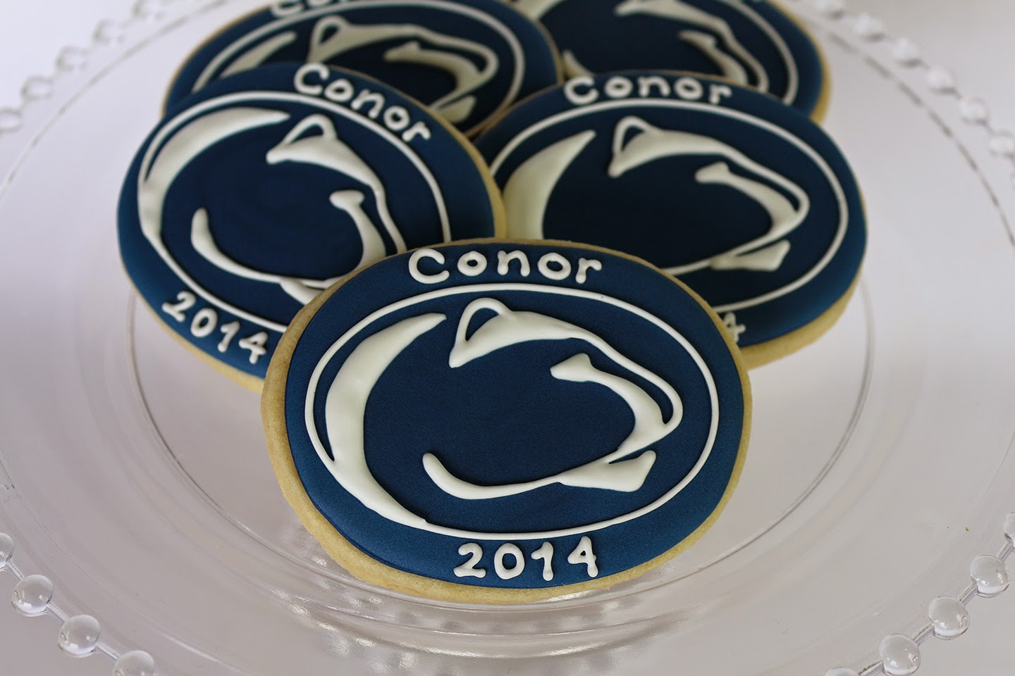 personalized penn state cookies