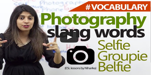 photography vocabulary words