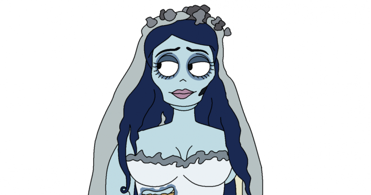 printable coloring pages corpse bride colouring pages