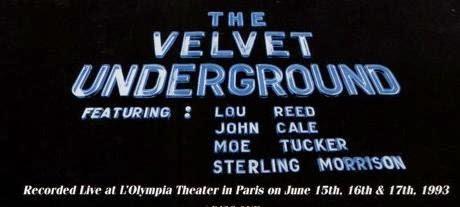 THE VELVET UNDERGROUND - Live MCMXCIII 5
