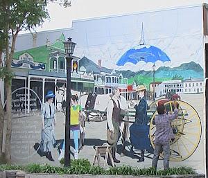 Waihi 1912 Timewarp Mural