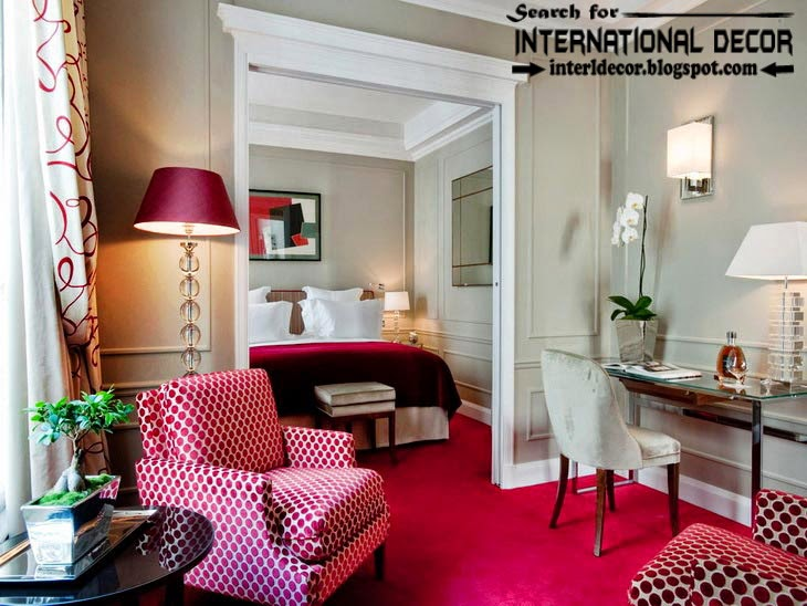 How To Use Red Color In The Interior Color Combinations