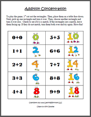 Pre School Worksheets : addition doubles worksheets free ~ Free ...