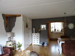 Wonen in je eigen stijl van granol muur naar krijtverf muur - Kleur van de muur kamer verf ...