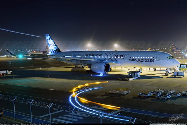 Grupo É MAIS QUE VOAR | Airbus A350 XWB - Foto © Herbert Monfre