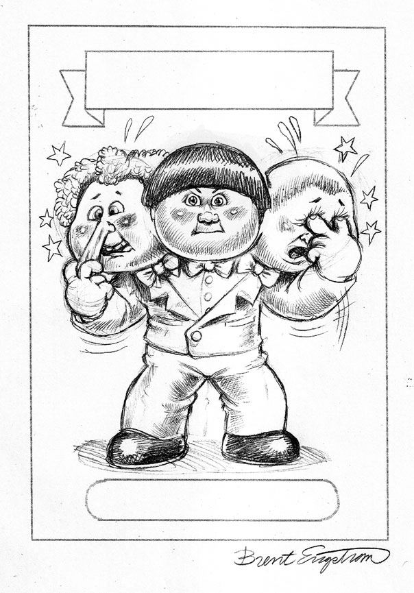 garbage pail kids coloring pages - photo#15
