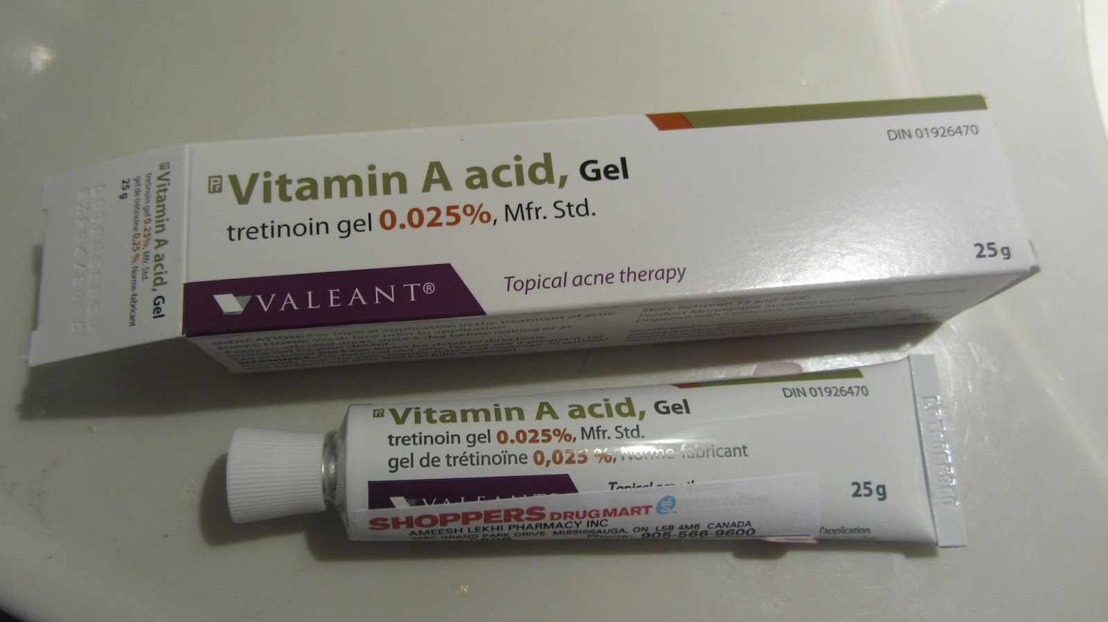 Cutetipps review: RETIN A - Vitamin A Acid Gel (Tretinoin