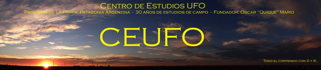 CENTRO DE ESTUDIOS UFO