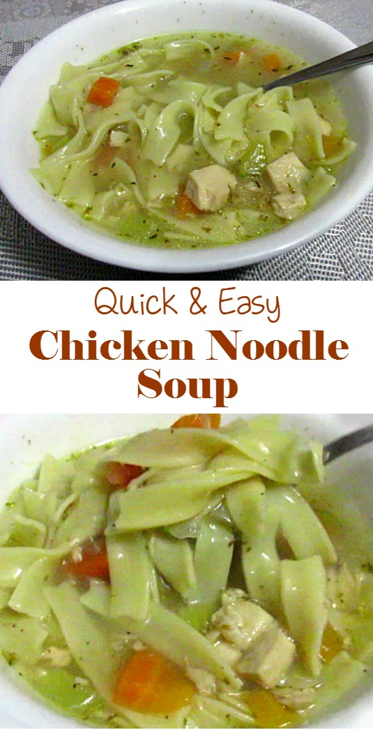 Quick and Easy Chicken Noodle Soup (Video Included) # ...