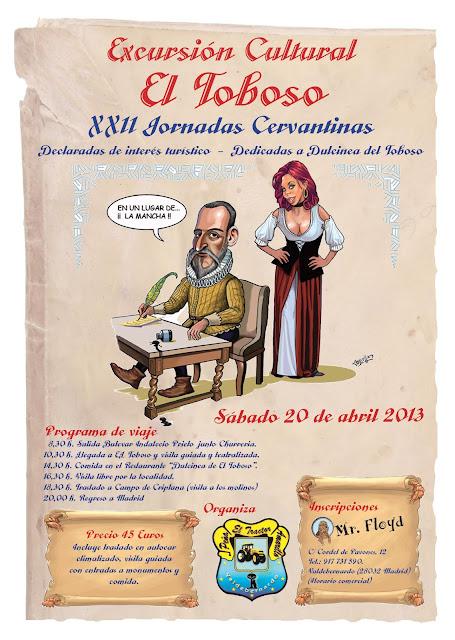 XXII Jornadas Cervantinas - El tractor amarillo 20 abril 2013