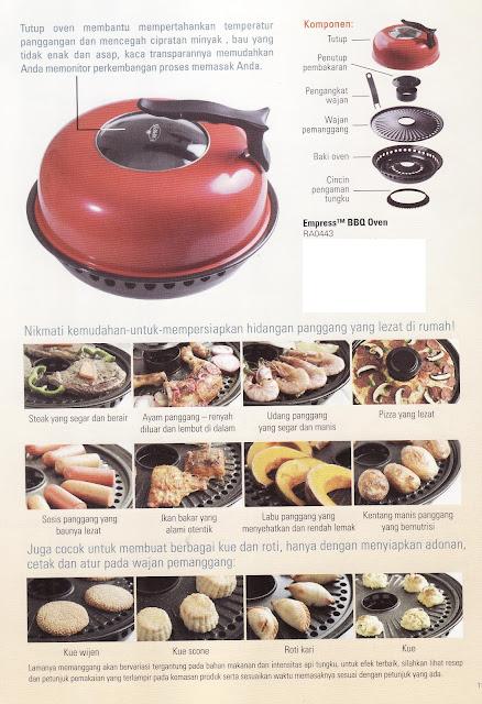 Empress™ BBQ Oven: Nikmati Masakan Panggang dan Barbeque di Rumah dengan Mudah Tanpa Asap, Tanpa Percikan Minyak, Tanpa Perlu Membalik Makanan.