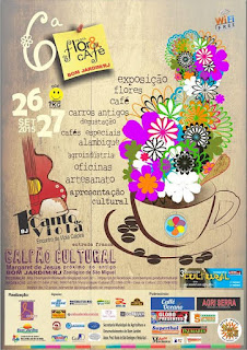 Programação da 6ª Festa da Flor & Café de Bom Jardim